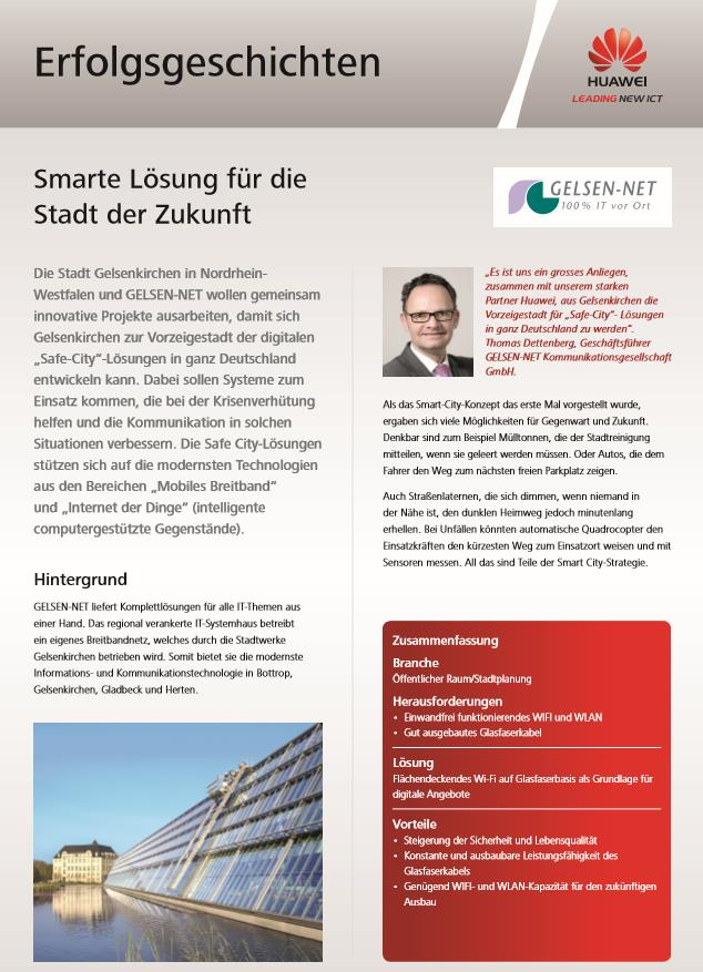 Smarte Lösungen für die Stadt der Zukunft