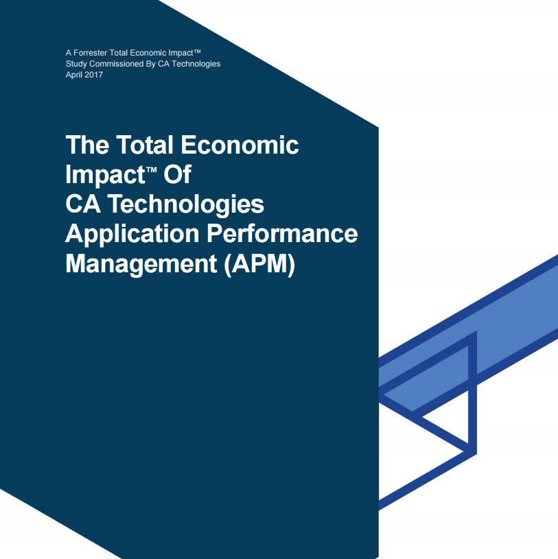 Der wirtschaftliche Gesamtnutzen von Application Performance Management