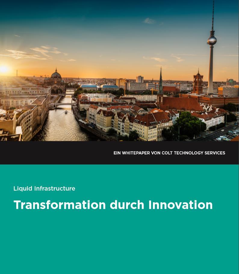 Mit Liquid Infrastructure zu Transformation durch Innovation