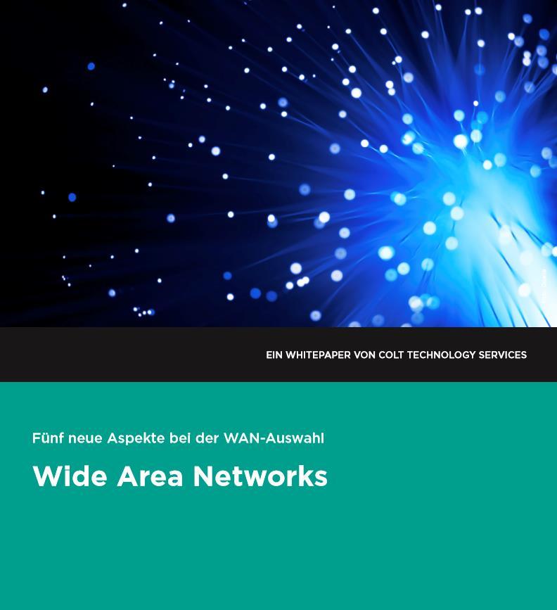 Wide Area Networks: Fünf wichtige Aspekte bei der Auswahl