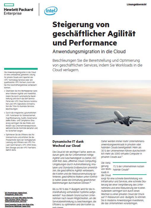 Mit Anwendungsmigration in die Cloud Agilität und Performance steigern