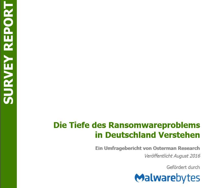 Die Tiefe des Ransomwareproblems in Deutschland verstehen