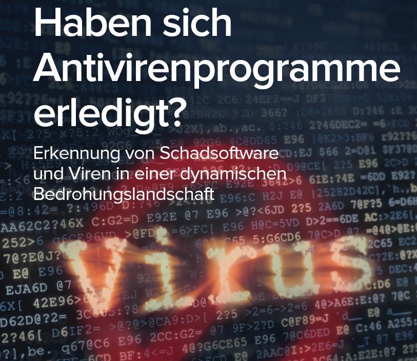 Haben sich Antivirenprogramme erledigt?
