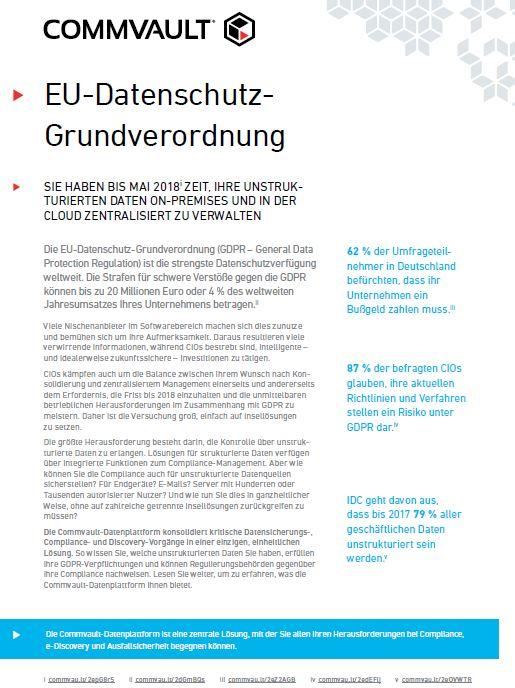 EU-Datenschutzgrundverordnung: Warum Insellösungen keine Lösung sind