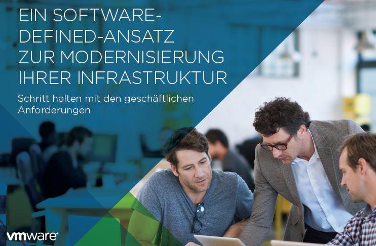 Ein Software-Defined-Ansatz zur Modernisierung ihrer Infrastruktur