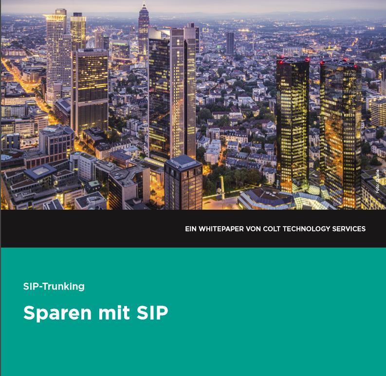 SIP-Trunking: Sparen mit SIP