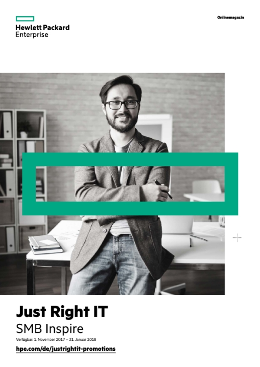 HPE Just Right IT – SMB Inspire – Angebote und Empfehlungen für KMUs