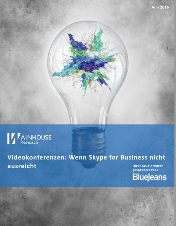 Videokonferenzen: Wenn Skype for Business nicht ausreicht