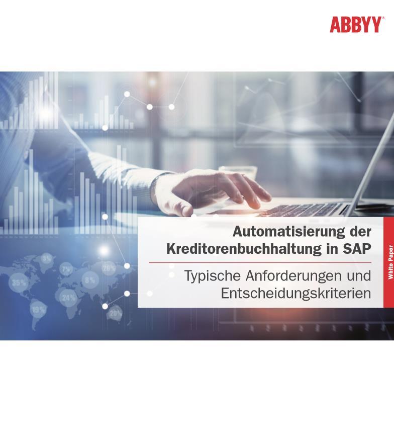 Kreditorenbuchhaltung in SAP automatisieren