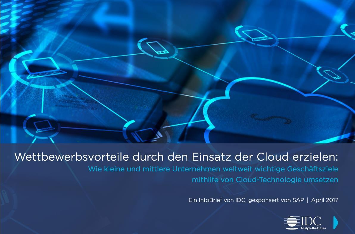 Wettbewerbsvorteile durch den Einsatz der Cloud erzielen