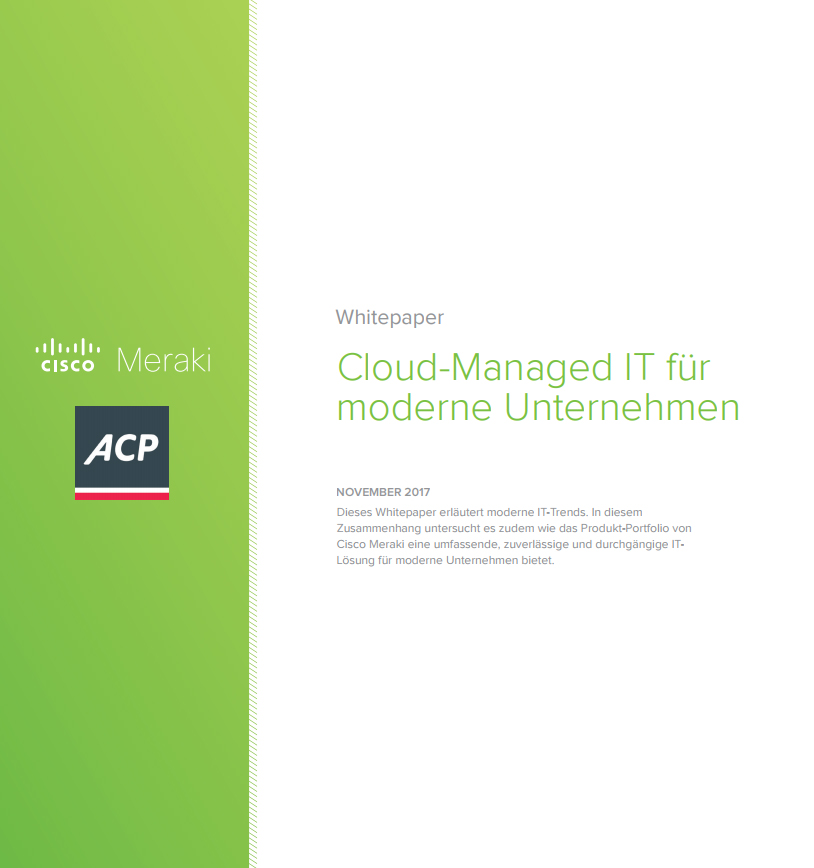 Cloud-Managed IT für moderne Unternehmen