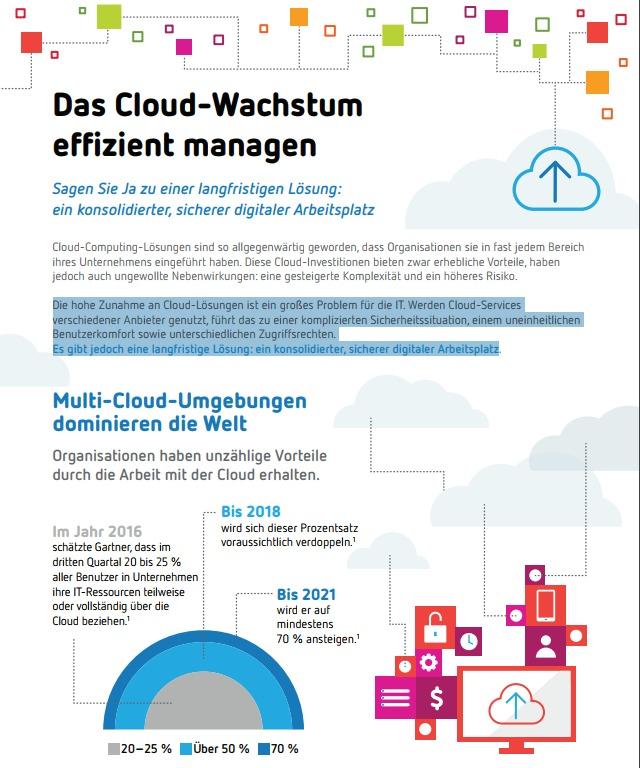 Das Cloud-Wachstum effizient managen