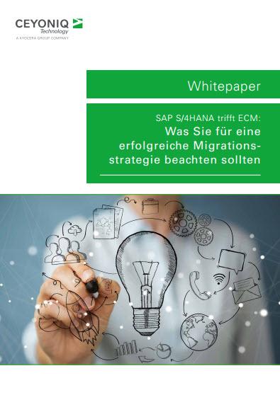 SAP S/4HANA trifft ECM: Was Sie für eine erfolgreiche Migrationsstrategie beachten sollten