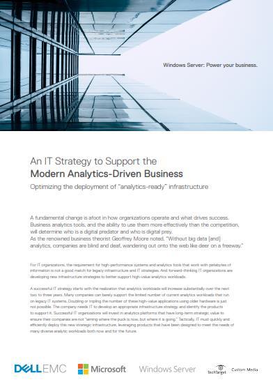 Die richtige IT-Strategie für das datengetriebene Unternehmen