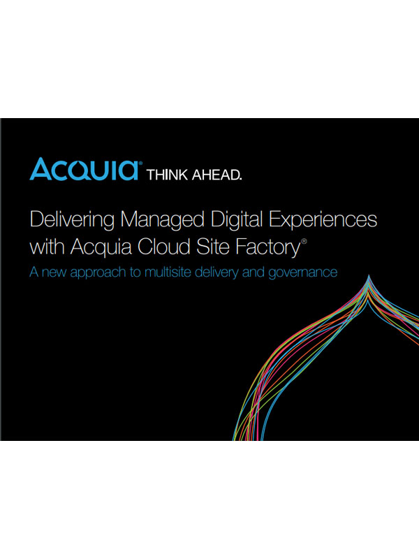 Multisite Management: Managed Digital Experiences