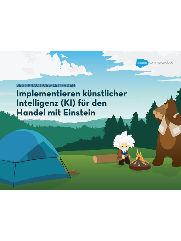Best-Practises-Leitfaden: Implementieren künstlicher Intelligenz (KI) für den Handel mit Einstein