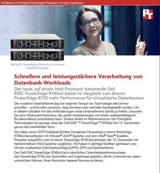 Schnellere und leistungsstärkere Verarbeitung von Datenbank-Workloads