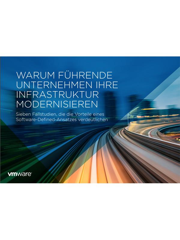 Warum führende Unternehmen ihre Infrastruktur modernisieren
