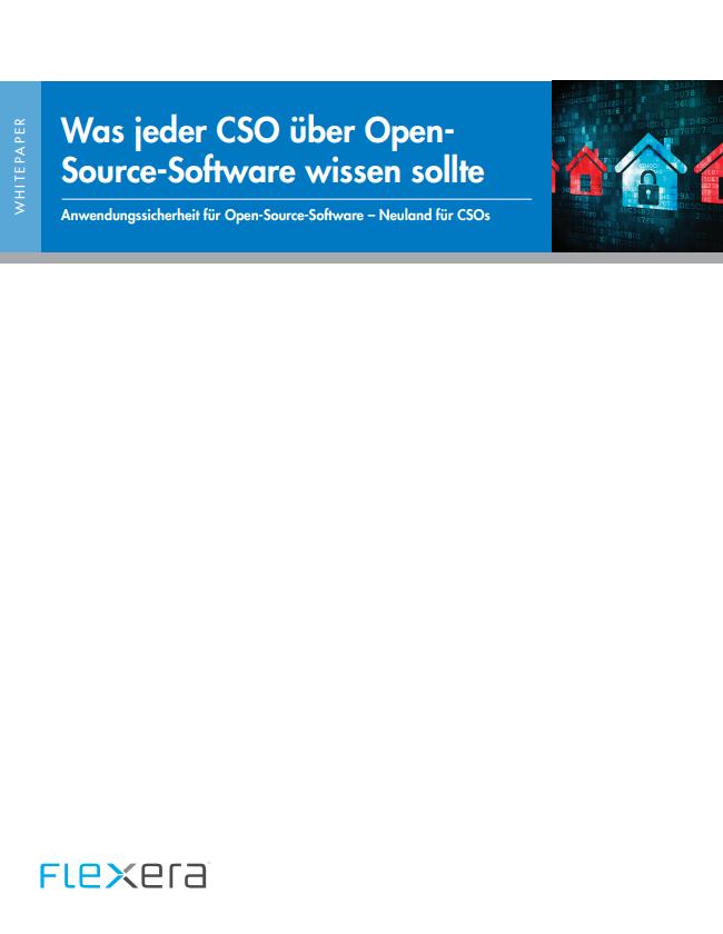 Was jeder CSO über Open-Source-Software wissen sollte