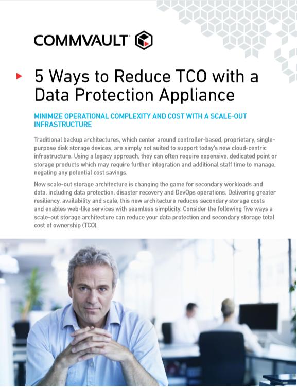 5 Möglichkeiten zur TCO-Senkung mit einer Datensicherungs-Appliance
