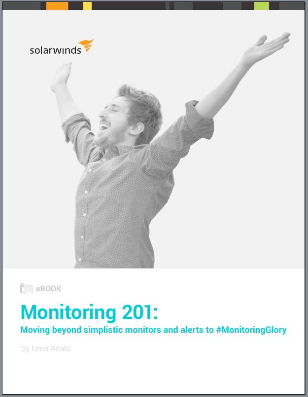 Übergang vom einfachen Monitoring und Alarmen zu #MonitoringGlory