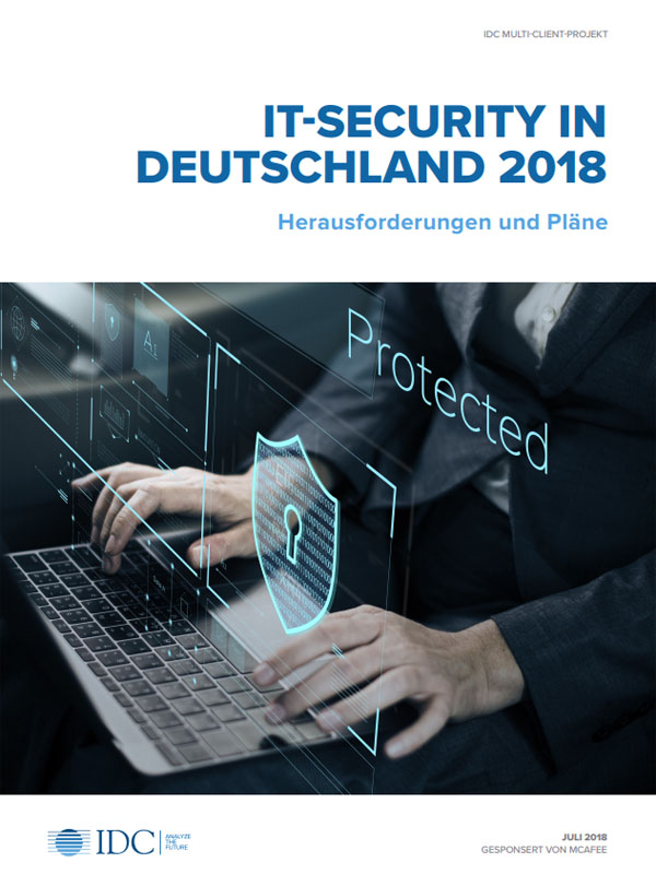 Studie: IT-Security in Deutschland 2018