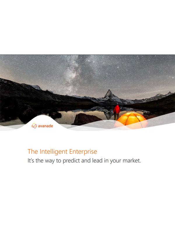The Intelligent Enterprise: Marktentwicklungen verstehen, vorhersagen und aktiv gestalten