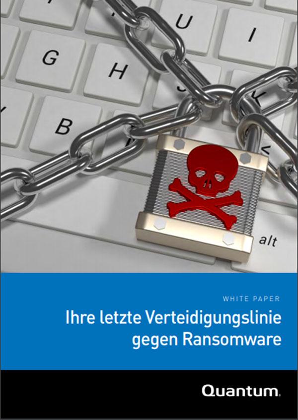 Ihre letzte Verteidigungslinie gegen Ransomware