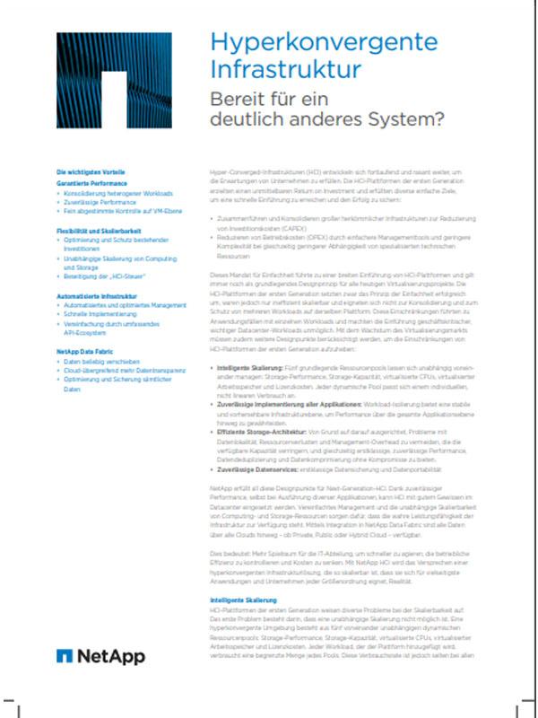 Hyper-Converged-Infrastruktur– Bereit für ein deutlich anderes System?