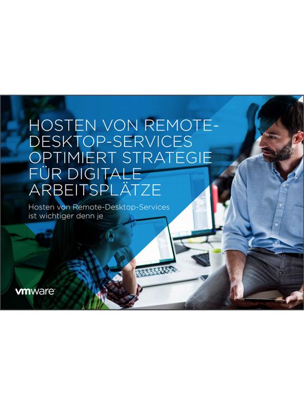 Hosten von Remote-Desktop-Services optimiert Strategie für digitale Arbeitsplätze