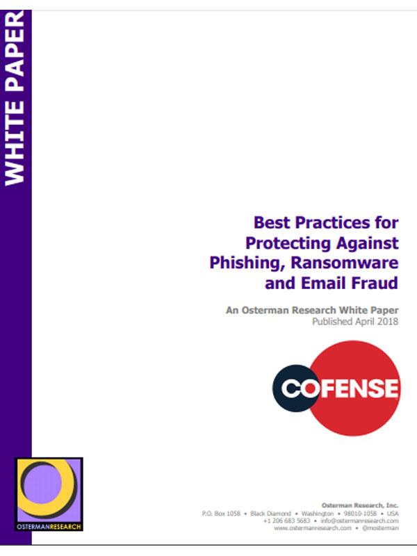 Best Practices zum Schutz vor Phishing, Ransomware und E-Mail-Betrug