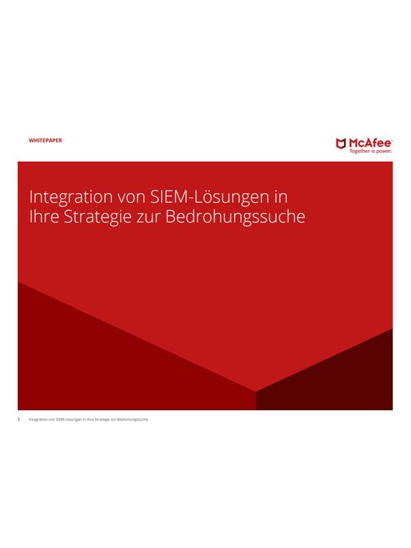 Integration von SIEM-Lösungen in Ihre Strategie zur Bedrohungssuche