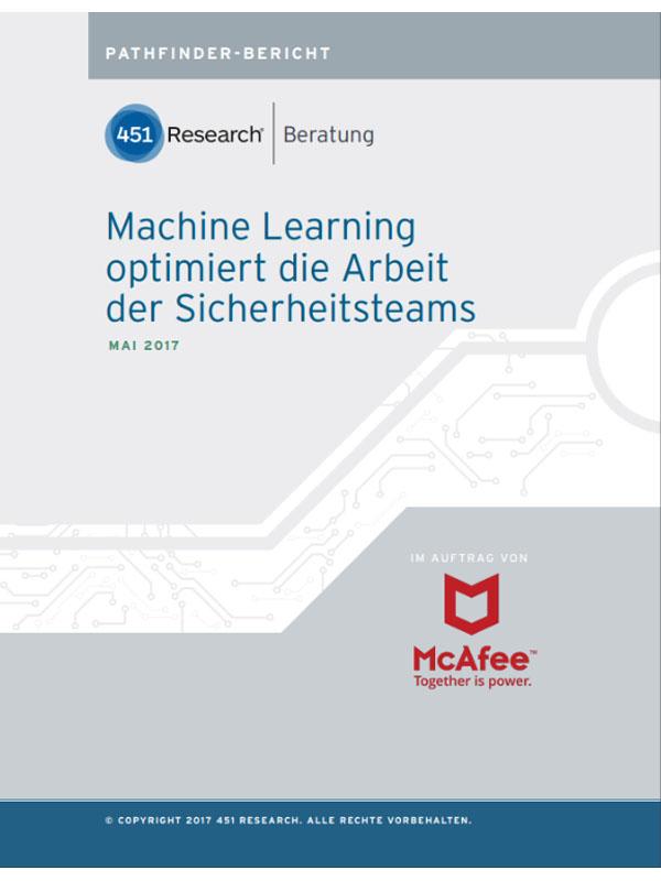 Machine Learning optimiert die Arbeit der Sicherheitsteams