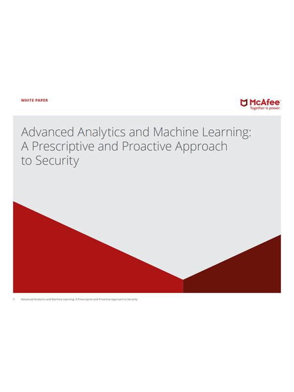 Erweiterte Analysen und maschinelles Lernen: Ein präskriptiver und proaktiver Sicherheitsansatz