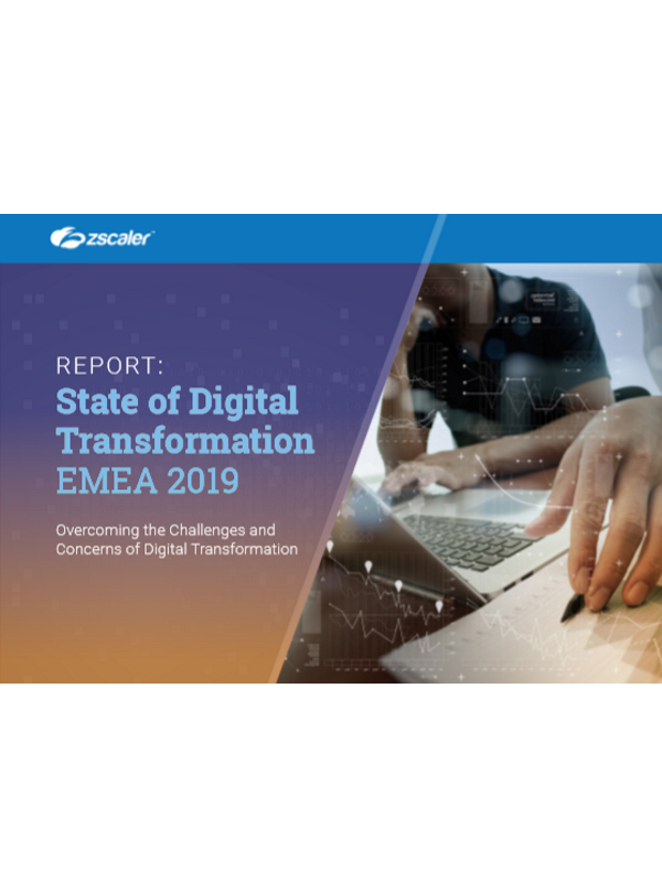 Report: State of Digital Transformation EMEA 2019