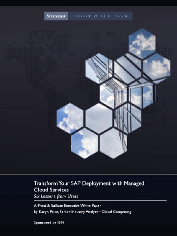 Transformieren Sie Ihr SAP Deployment mit Managed Cloud Services