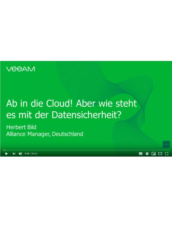 Ab in die Cloud! Aber wie steht es mit der Datensicherheit?