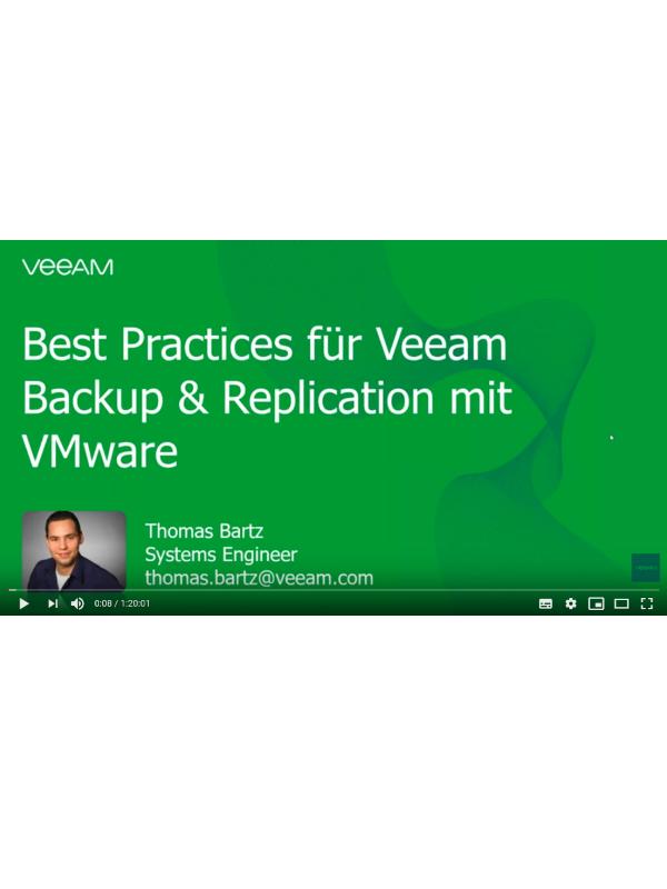 VMware Backup Best Practices