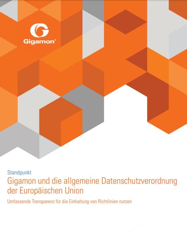 Gigamon und die allgemeine Datenschutzverordnung der Europäischen Union – Umfassende Transparenz für die Einhaltung von Richtlinien nutzen
