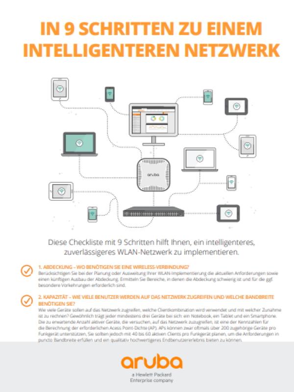 In 9 Schritten zu einem intelligenteren Netzwerk