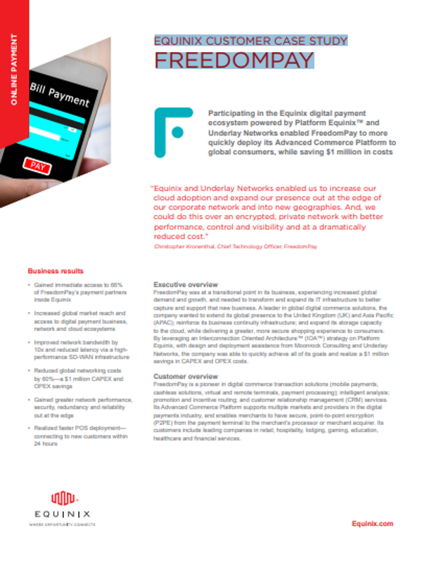 Equinix Customer Case Study Freedomplay
