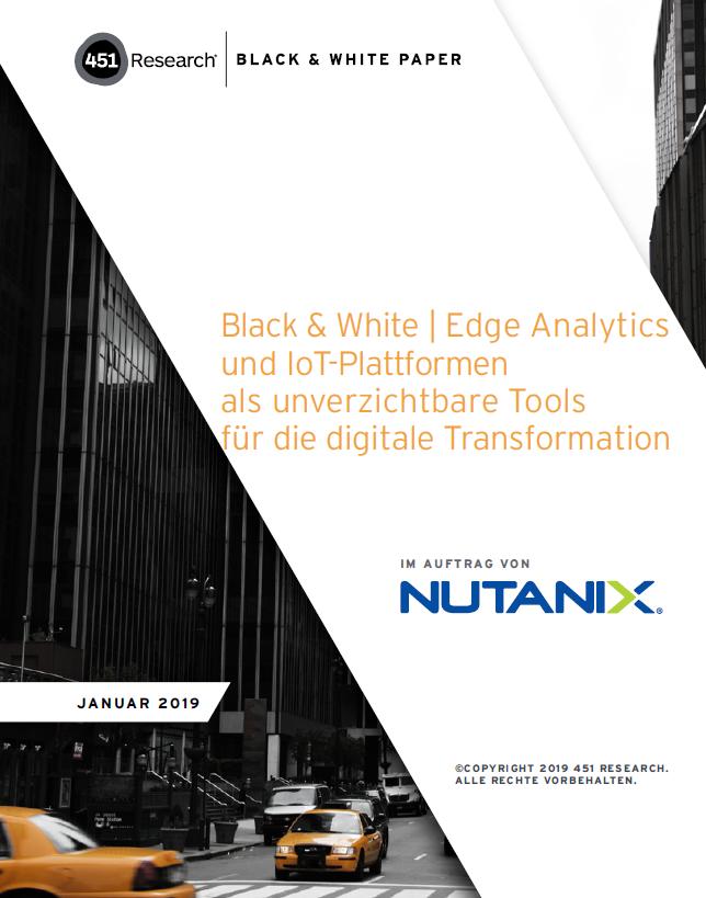 Edge Analytics und IoT-Plattformen als unverzichtbare Tools für die digitale Transformation