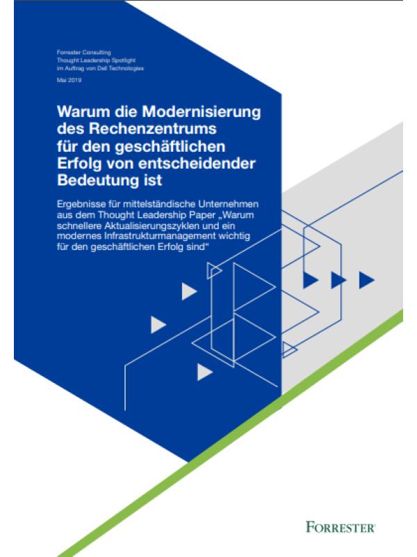 Warum die Modernisierung des Rechenzentrums für den geschäftlichen Erfolg von entscheidender Bedeutung ist