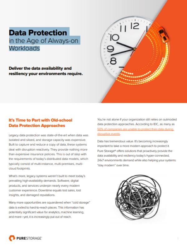 Datenschutz im Zeitalter des Always-On Workloads (engl.)