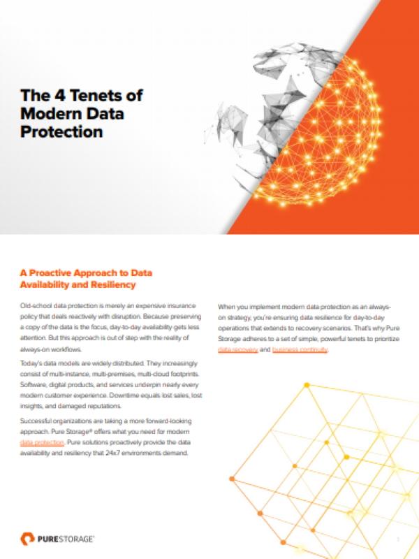 Die 4 Grundsätze des modernen Datenschutzes