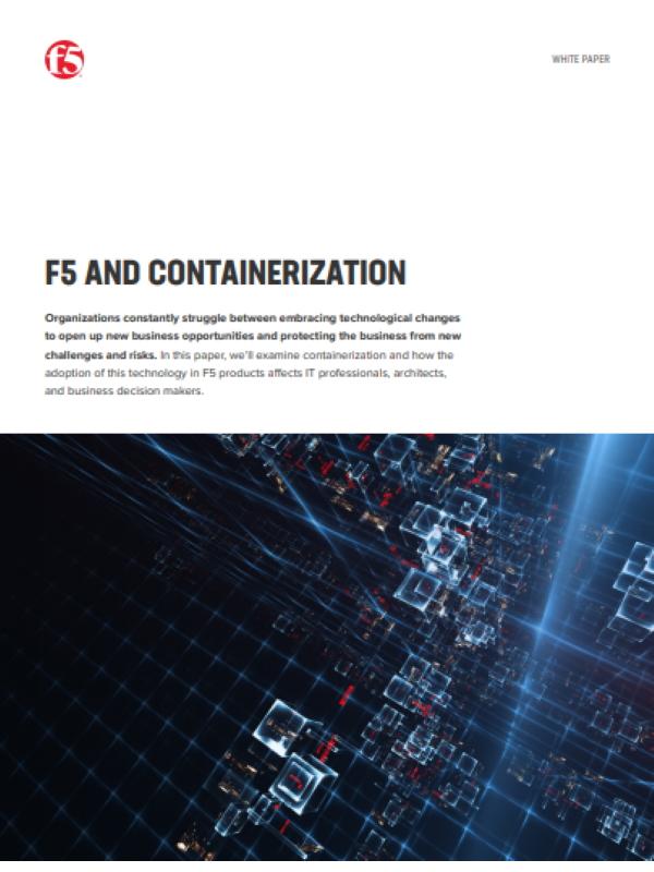 F5 und Containerisierung