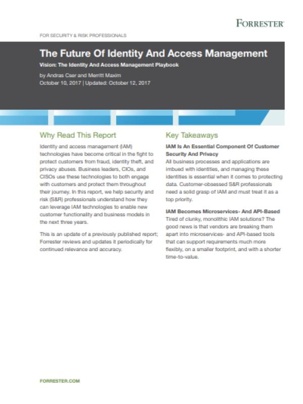 Die Zukunft des Identitäts- und Zugriffsmanagements