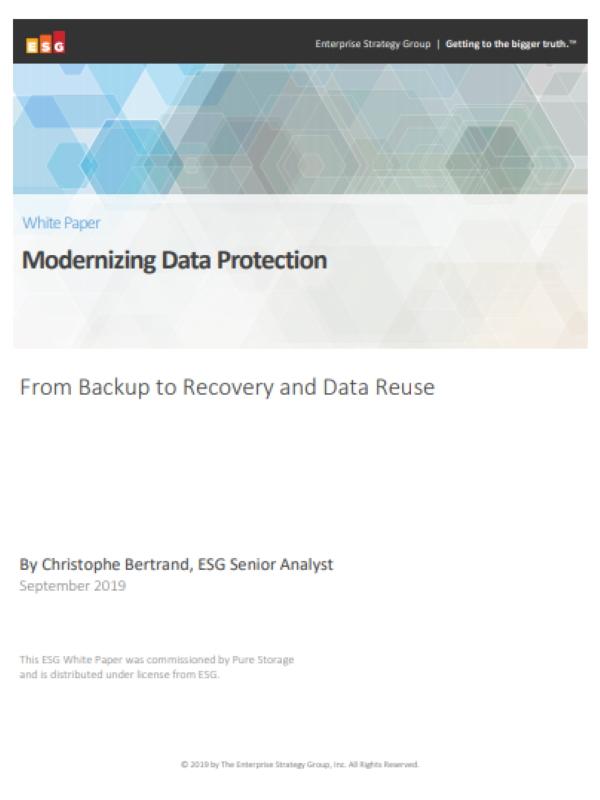 Datenschutz modernisieren – Von der Sicherung bis zur Wiederherstellung und Wiederverwendung von Daten