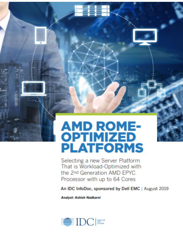 IDC-Kurzinfo über optimierte Plattformen für AMD Rome