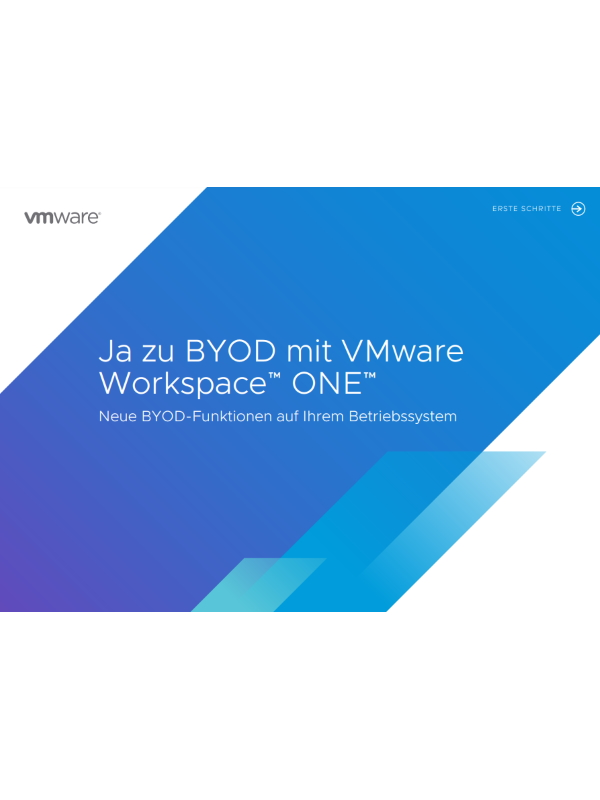 Ja zu BYOD mit VMware Workspace ONE